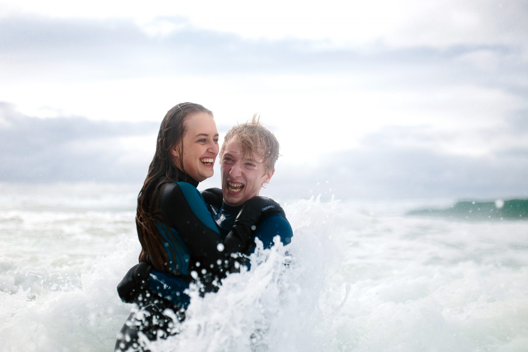 1-1-1700x1133 Andy and Anna Surf engagement // Portrush