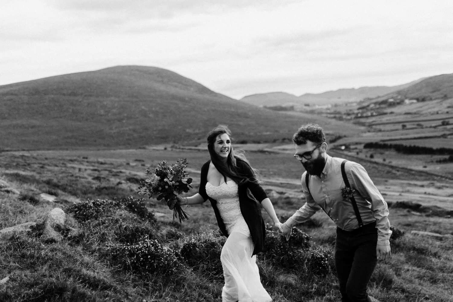 Mourne-mountain-ireland-elopement-5 John & Gráinne // Mourne Mountain Elopement Ireland