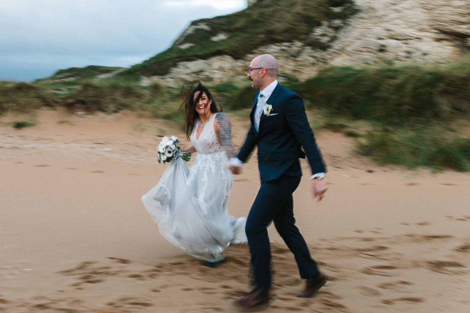 north-coast-elopement-CS-4 North Coast of Ireland Elopement // Colin and Sarah