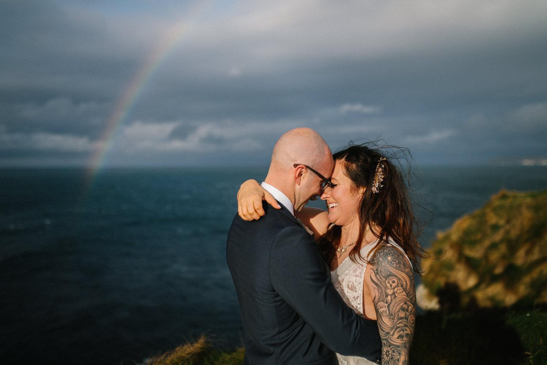 sc Colin and Sarah // North Coast Elopement
