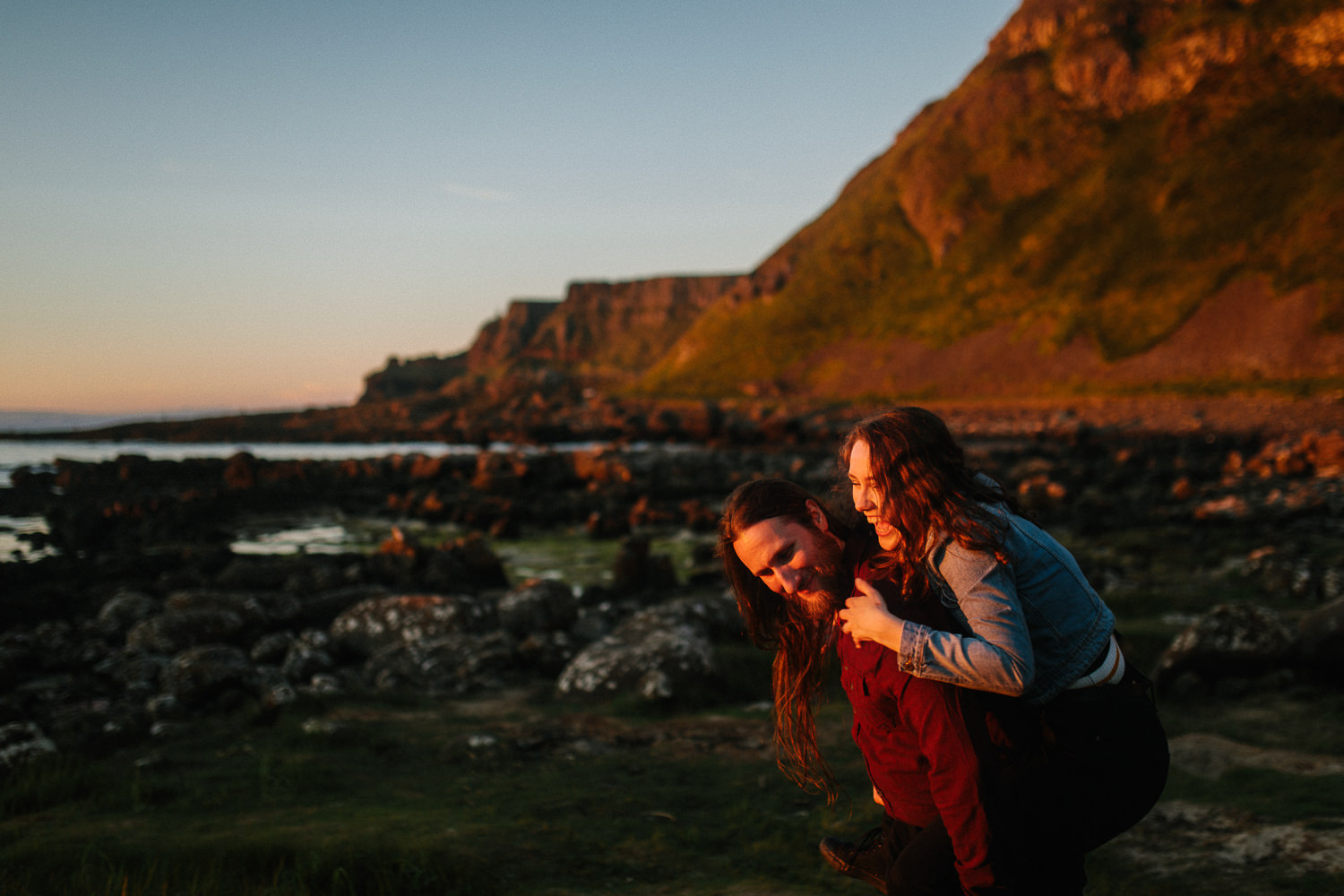 Giants-Causeway-engagment-9 Giants Causeway Engagement Shoot // Mark & Marie